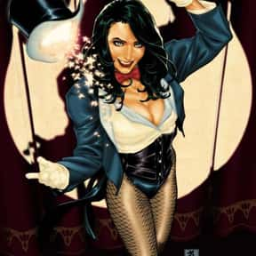 Zatanna is listed (or ranked) 4 on the list Stunning Female Comic Book Characters, Ranked