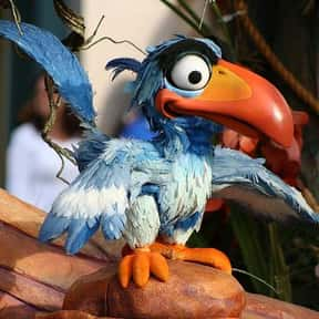 Zazu is listed (or ranked) 8 on the list The Best Bird Characters In Cartoons And Comics
