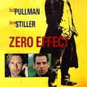 Zero Effect is listed (or ranked) 19 on the list The Online Film Critics Society's Top Overlooked Films '90