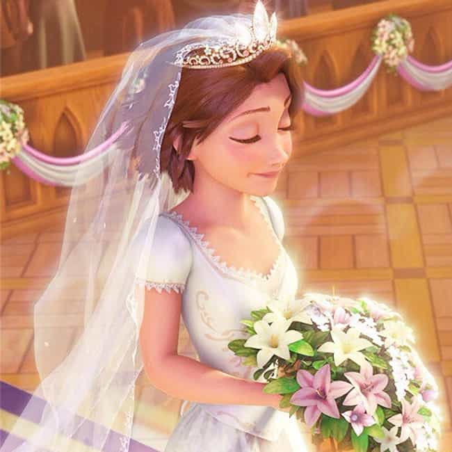 Rapunzel Is Listed Or Ranked 4 On The List Best Disney Princess Wedding