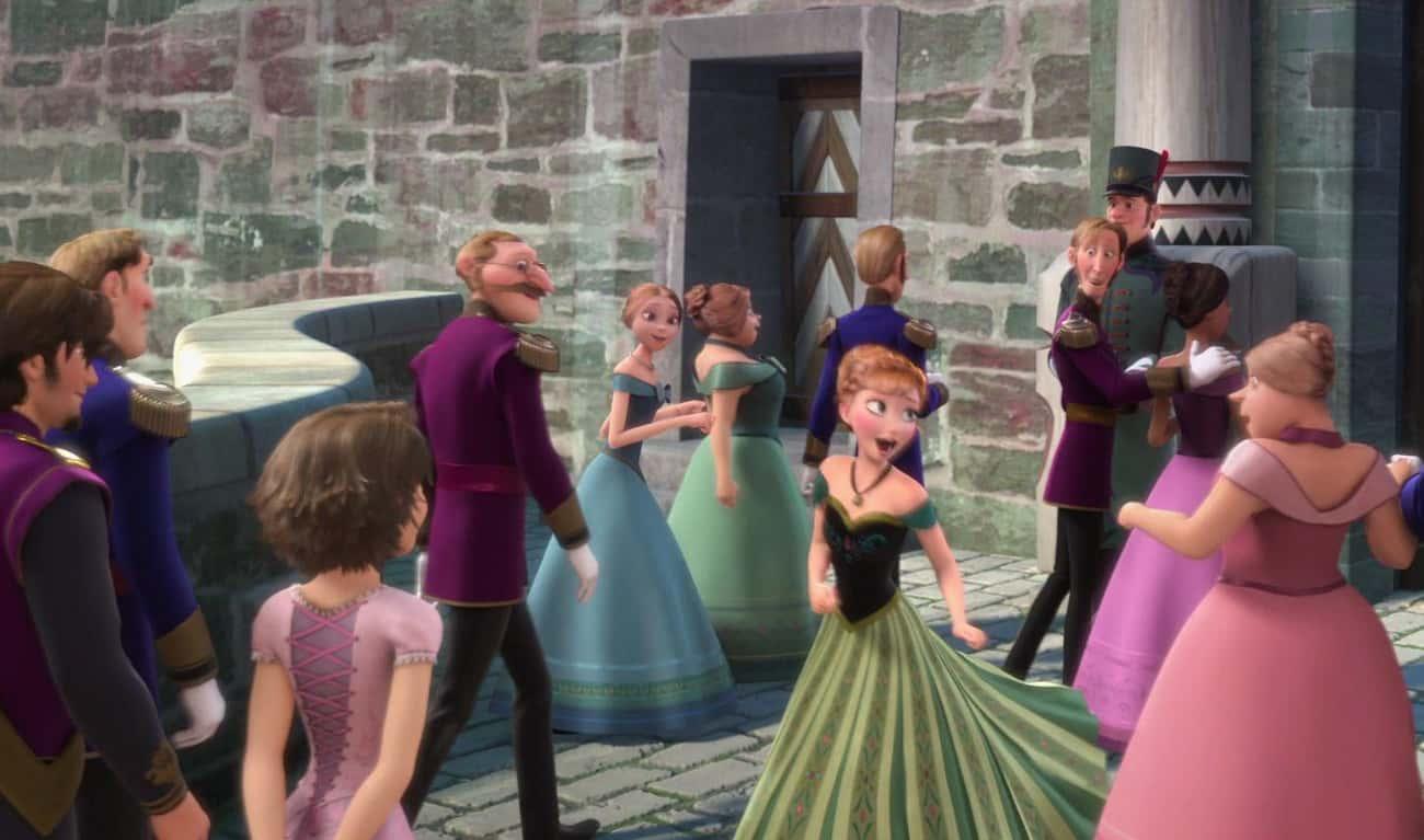 Rapunzel And Eugene In 'Frozen'