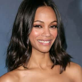 Zoe Saldana is listed (or ranked) 13 on the list The Best Marvel Movie Actors Ever