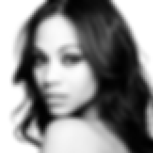 Zoe Saldana is listed (or ranked) 5 on the list The Twenty Most Beautiful Actresses of All Time