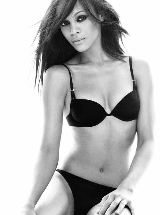 Zoe Saldana is listed (or ranked) 4 on the list The Hottest Black Celebrity Women