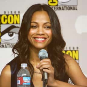 Zoe Saldana is listed (or ranked) 1 on the list The Greatest Non-White Actresses