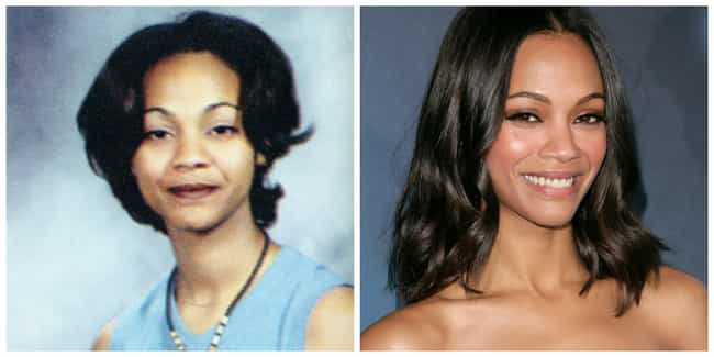 Zoe Saldana is listed (or ranked) 7 on the list Celebrities Who Have Aged the Best