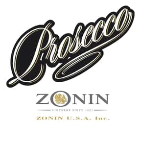 Zonin is listed (or ranked) 5 on the list The Best Sparkling Wine Brands