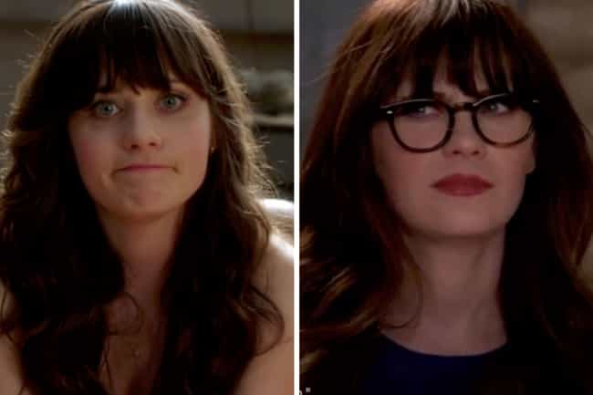 Zooey Deschanel is listed (or ranked) 1 on the list How the Cast of New Girl Aged from the First to Last Season