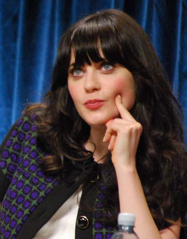 Zooey Deschanel is listed (or ranked) 2 on the list 19 Actors Who Sing in Bands