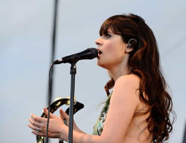Zooey Deschanel is listed (or ranked) 2 on the list 32 Actors Who Sing in Bands