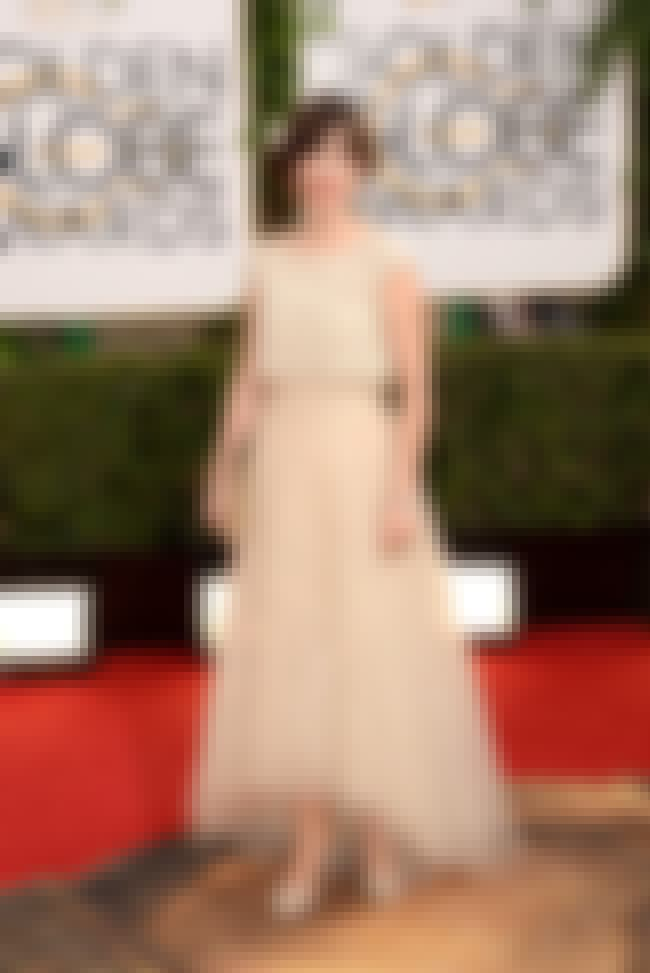 Zooey Deschanel is listed (or ranked) 2 on the list The Worst Golden Globe Red Carpet Fashions of 2014