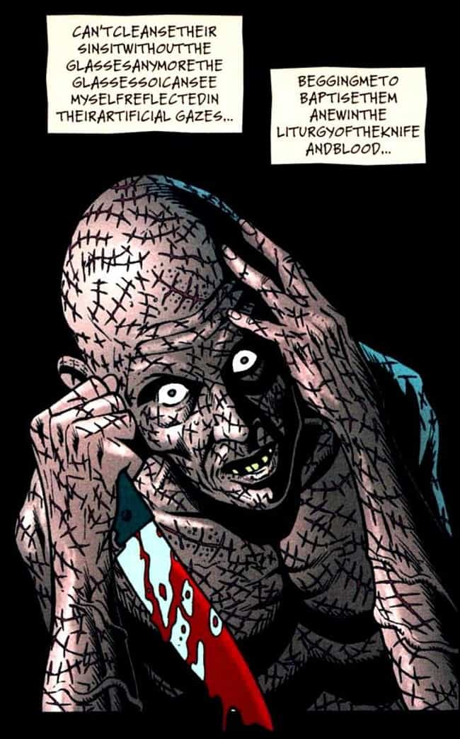 Victor Zsasz is listed (or ranked) 4 on the list The Spookiest Villains in Comics