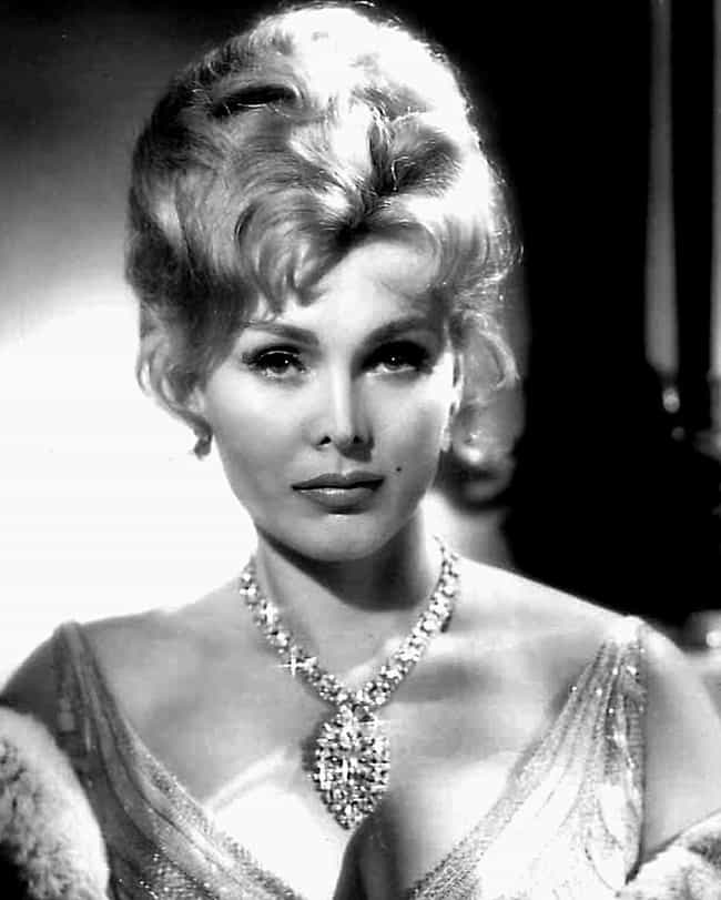 Zsa Zsa Gábor is listed (or ranked) 27 on the list Celebrities Who Died in 2016