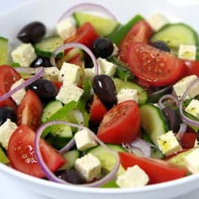 Greek food is listed (or ranked) 5 on the list Your Favorite Types of Cuisine