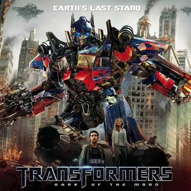 Transformers: Dark of the Moon is listed (or ranked) 2 on the list All the 'Transformers' Movies, Ranked Best to Worst