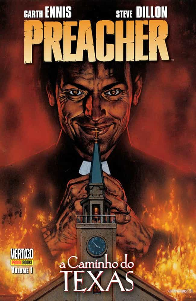Preacher is listed (or ranked) 1 on the list 24 Criminally Underrated Indie Comics You Should be Reading