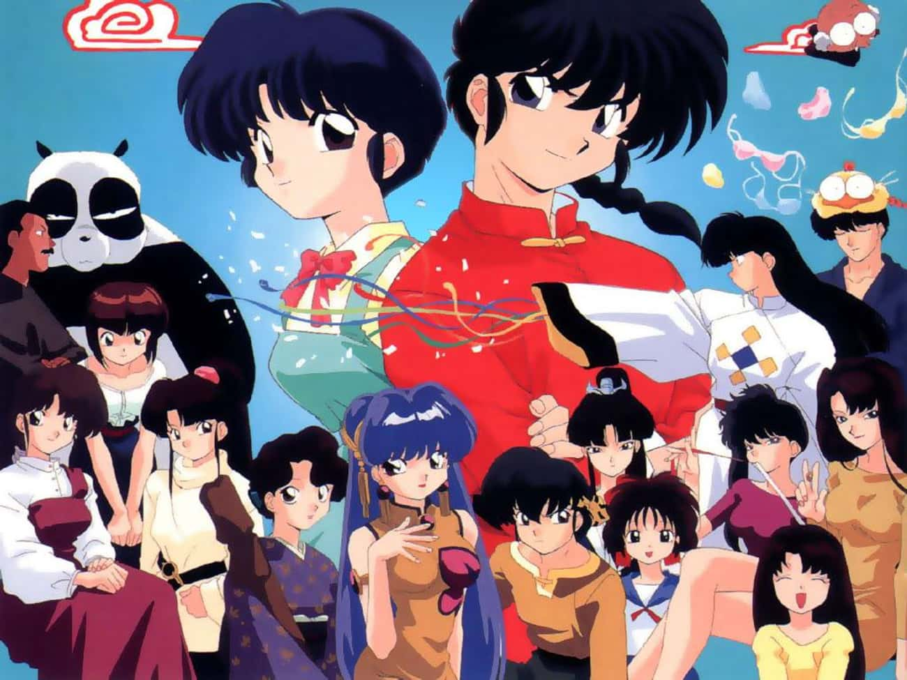Ranma ½ is listed (or ranked) 3 on the list The 13 Best Anime Like Inuyasha