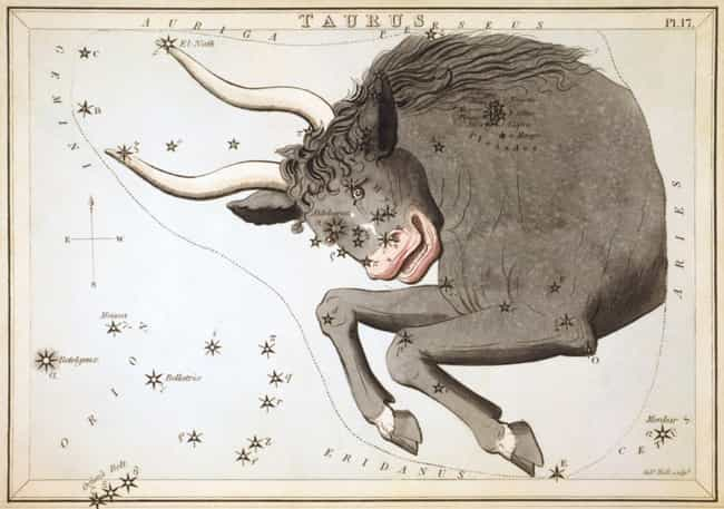 Taurus (April 20 - May 2... is listed (or ranked) 2 on the list The Least Compatible Zodiac Signs