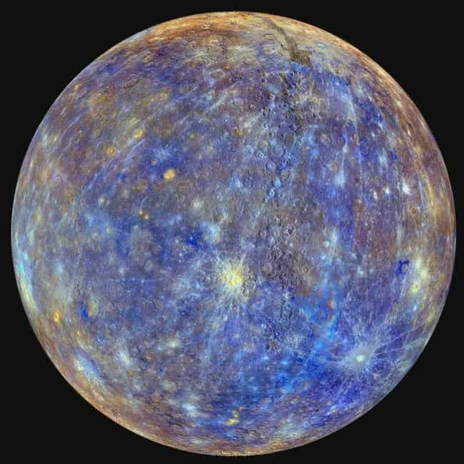 Mercury is listed (or ranked) 3 on the list What All The Planets Mean In Astrology—And How They Impact You