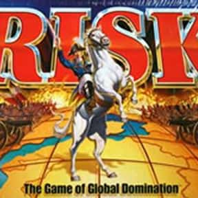 Risk is listed (or ranked) 8 on the list The Best Board Games of All Time