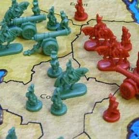 Risk is listed (or ranked) 8 on the list The Best Family Board Games