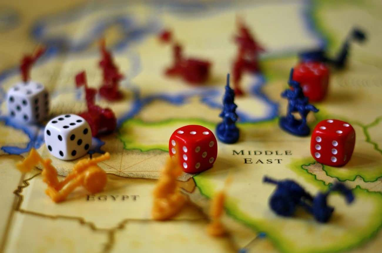Risk is listed (or ranked) 2 on the list The 12 Best Party Games For Completely Destroying Friendships