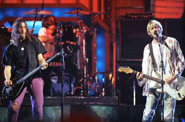Nirvana is listed (or ranked) 3 on the list Famous Bands That Originally Had Horrible Names