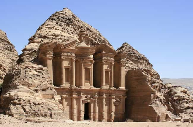Petra is listed (or ranked) 1 on the list 16 Underrated Historical Monuments That Should Be Wonders of the Ancient World