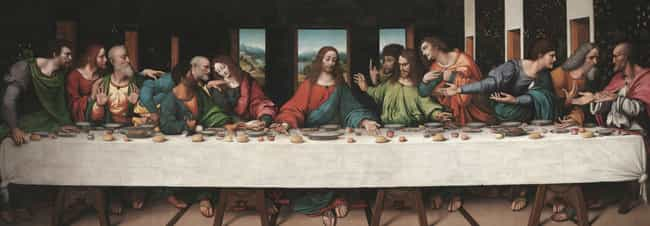 The Last Supper is listed (or ranked) 1 on the list 13 Symbols and Codes Hidden in Renaissance Art That You Never Would Have Noticed
