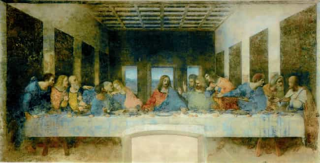 The Last Supper is listed (or ranked) 4 on the list The Most Amazing Pieces of Artwork Ever Made