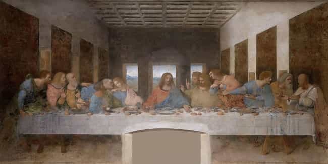 The Last Supper is listed (or ranked) 4 on the list The Best Paintings Of All Time