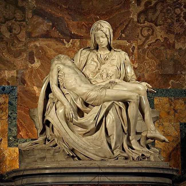 Pietà is listed (or ranked) 1 on the list The Best Sculptures Of All Time