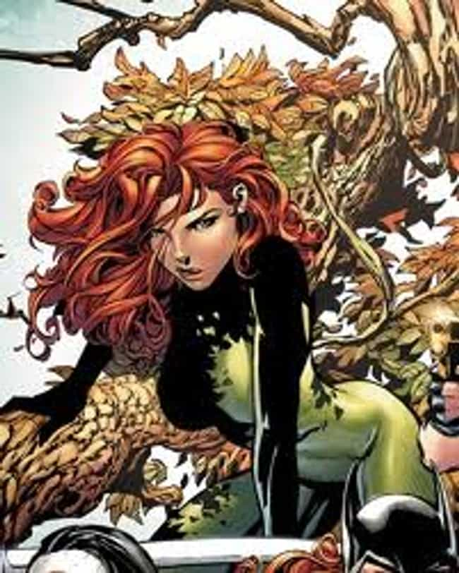 Poison Ivy is listed (or ranked) 3 on the list The Best Female DC Heroes