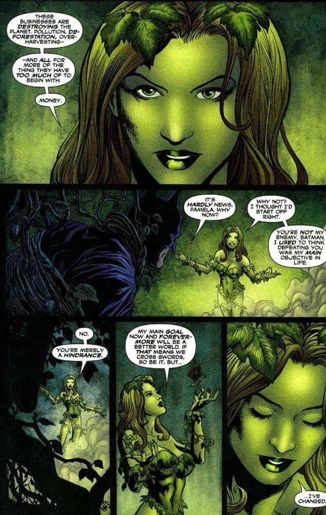 Poison Ivy is listed (or ranked) 2 on the list 7 Comic Book Characters Who Unfortunately Were Cut From Movies