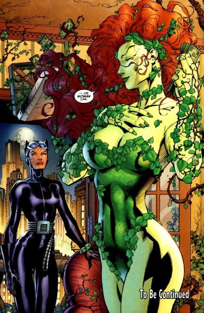 Poison Ivy is listed (or ranked) 1 on the list Batman Villains, Ranked By Hotness