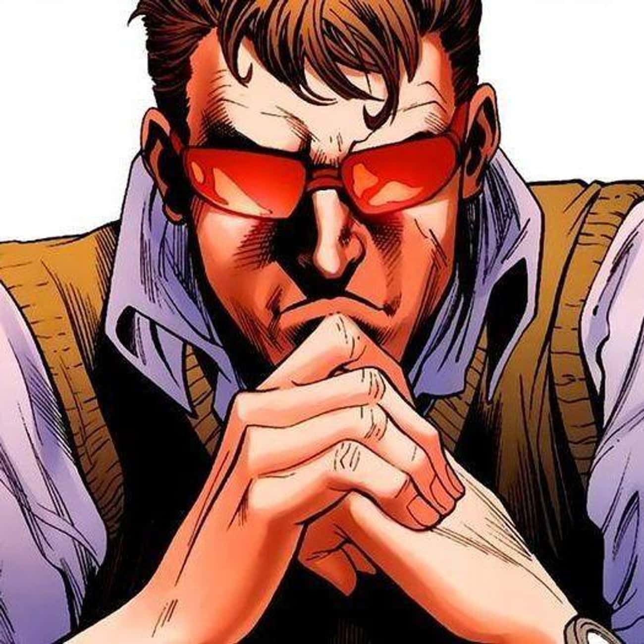 Cyclops is listed (or ranked) 1 on the list The Best Superheroes Who Wear Glasses