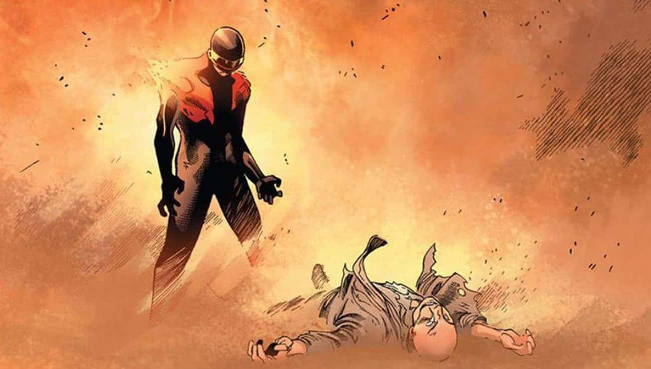 Cyclops Obliterates Professor X In Front Of Everyone