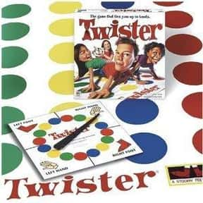 Twister is listed (or ranked) 13 on the list The Best Family Board Games