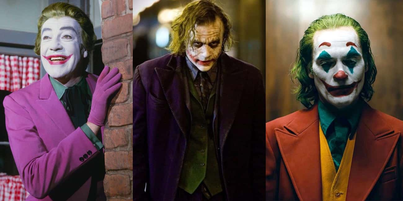 Joker (Batman) is listed (or ranked) 3 on the list Famous Villains Whose Looks Have Totally Changed
