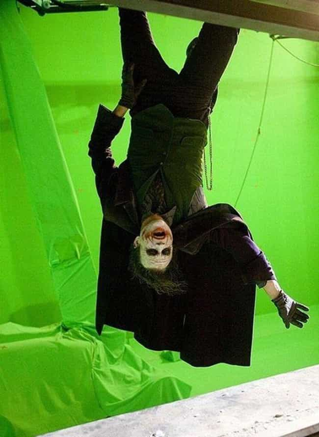 Joker is listed (or ranked) 4 on the list 53 Behind The Scenes Photos Of Movie Villains
