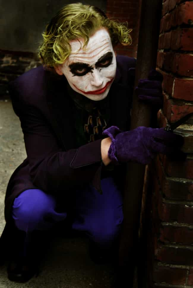 Joker is listed (or ranked) 2 on the list The Best Superheroes To Be For Halloween
