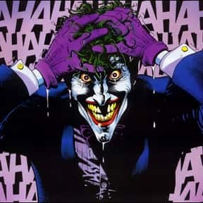 Joker is listed (or ranked) 1 on the list The Best Batman Villains Ever