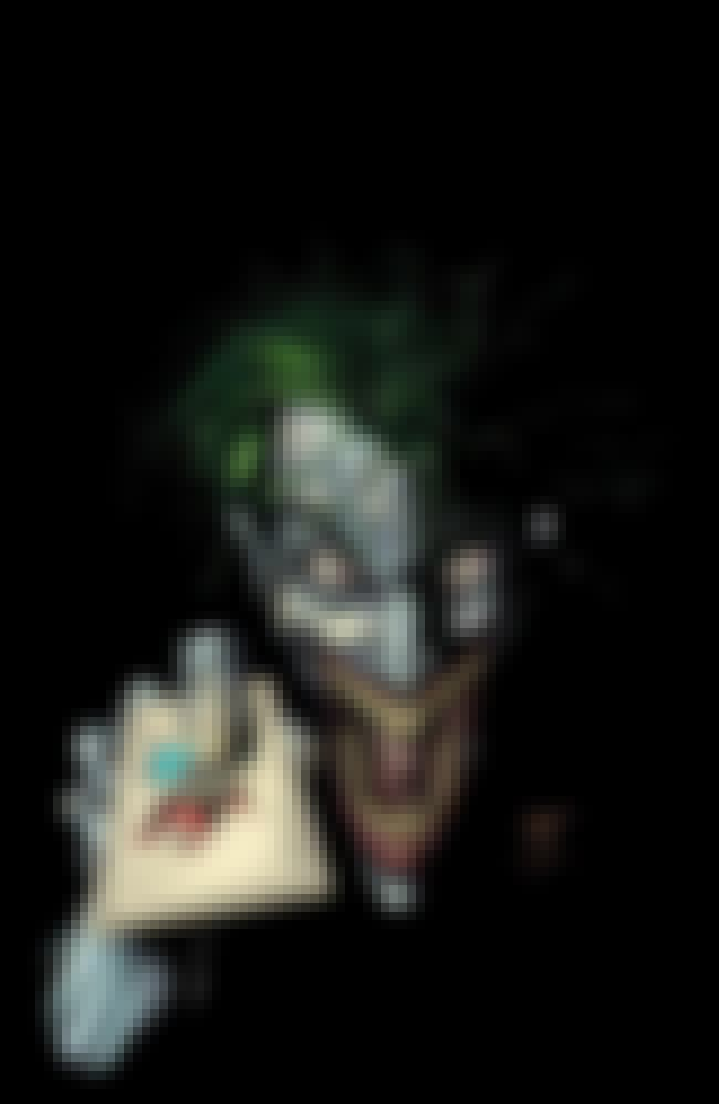 Joker is listed (or ranked) 1 on the list The Spookiest Villains in Comics