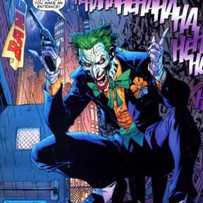 Joker is listed (or ranked) 1 on the list The Best Characters from the Batman Universe