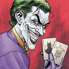 Joker is listed (or ranked) 1 on the list The Best Comic Book Villains