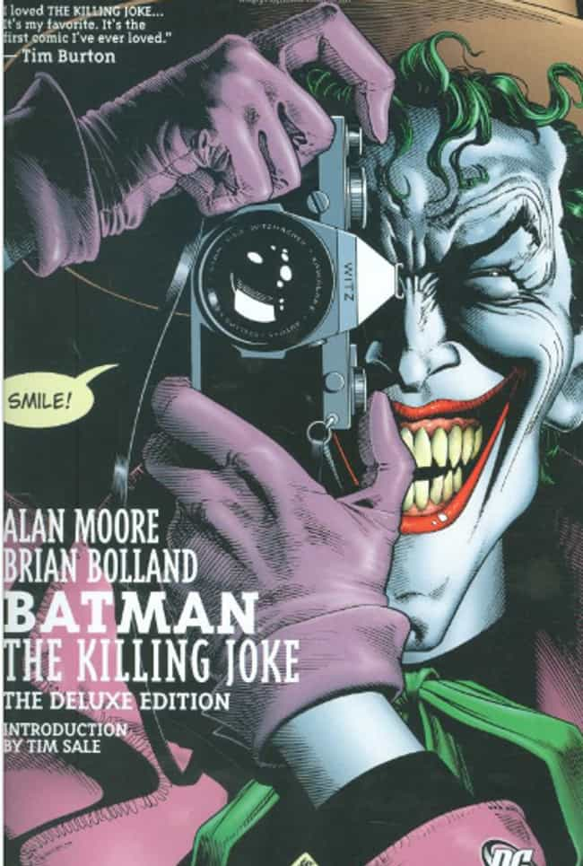 Joker is listed (or ranked) 1 on the list The Craziest Comic Book Characters, Ranked