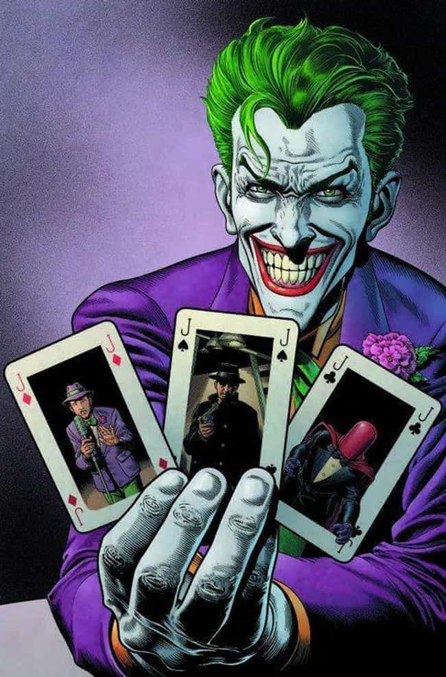 Joker is listed (or ranked) 4 on the list The Best Comic Book Characters With Green Eyes