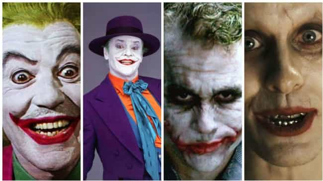 Joker is listed (or ranked) 1 on the list Famous Villains Whose Looks Have Totally Changed