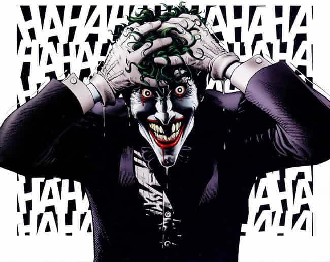 Joker is listed (or ranked) 1 on the list The Most Terrifying & Scariest Villains In Comics