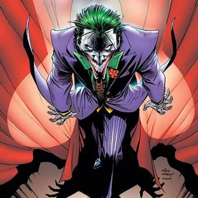 Joker is listed (or ranked) 1 on the list Ranking Every Joker in the Comics